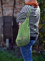 Nákupné tašky - Sieťovka - zelená - 9979806_