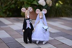 Svadobný myšací párik
