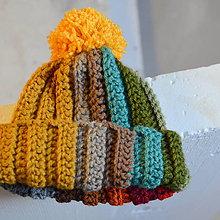 Detské čiapky - detská čiapka MULTICOLOUR - 9980946_
