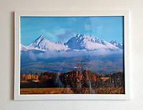 Obrázok na stenu 43x33 cm (Tatry)