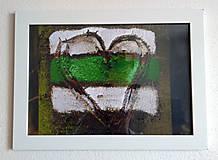 Obrázok na stenu 33x24 cm (Turistické srdce)