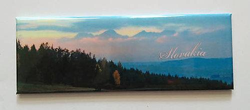 Magnetky - Magnetka Tatry v zapadajúcom slnku - 9979142_