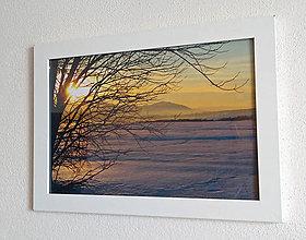 Obrázky - Obrázok na stenu 33x24 cm (Štrbské lúky) - 9979439_