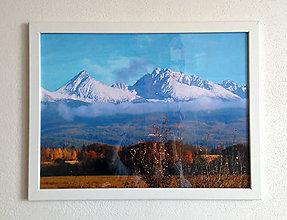 Obrázky - Obrázok na stenu 43x33 cm (Tatry) - 9979563_