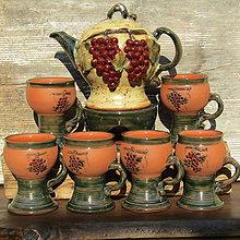 Nádoby - Súprava na varené víno, grog, punč, čaj.... - 9981085_