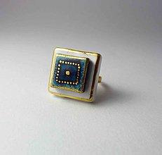 Prstene - Tana šperky - keramika/zlato - 9978538_