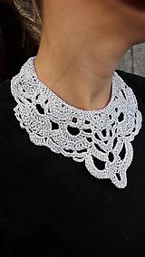 Náhrdelníky - Háčkovaný náhrdelník - 9980054_