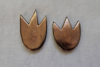 Magnetky - Magnetky  tulipány zlaté - 9979317_
