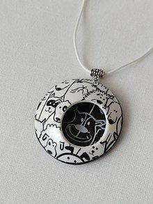 Náhrdelníky - náhrdelník so psíkmi - 9980614_