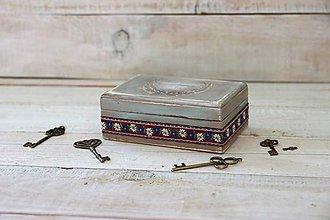 Krabičky - Šperkovnička nostalgia - 9979878_