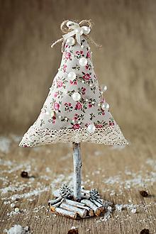 Dekorácie - Vianočný stromček malý prírodný - 9979125_