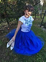Šaty - Modré šaty - 9978563_
