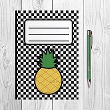 Papiernictvo - Zápisníky šachovnica ovocie - 9978887_
