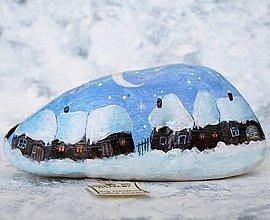 Dekorácie - Maľba na kameni - 9980201_