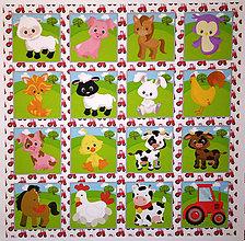 Textil - BAVLNĚNÝ PANEL /I NA PEXESO/ 35 X 35 CM - 9982819_