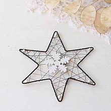 Dekorácie - vianočná hviezda - 9983182_