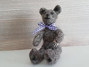 Hračky - Mini macík - šedý - 9983335_