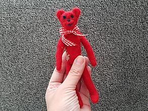 Hračky - Mini macík červený - 9983355_
