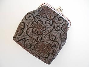 Peňaženky - Sivá peňaženka - 9984727_