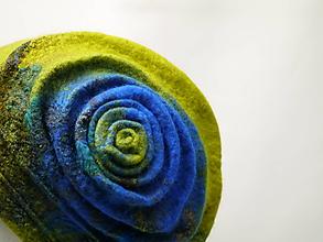 Čiapky - Plstená čiapka zelená- limitovaná edícia - 9981784_
