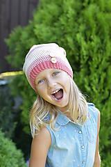 Detské čiapky - ZĽAVA z 14 eur na 10 eur Pásikavá čiapka - 9982187_