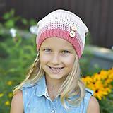 Detské čiapky - ZĽAVA z 14 eur na 10 eur Pásikavá čiapka - 9982188_