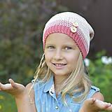 Detské čiapky - ZĽAVA z 14 eur na 10 eur Pásikavá čiapka - 9982192_