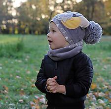 Detské čiapky - Hrejivý set - 9984744_