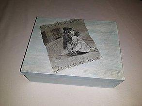 Darčeky pre svadobčanov - Svadobná krabička - 9983550_