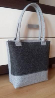 Veľké tašky - Kabelka filcová 10 - 9984326_