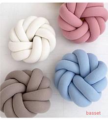 Úžitkový textil - Pletený vankúš - 9984552_