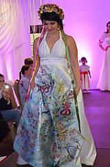 Šaty - Svadobné šaty jarná lúka ..... - 9983700_