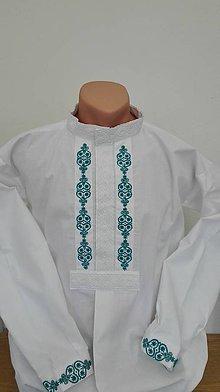Oblečenie - Svadobná pánska košeľa Juraj - 9981831_