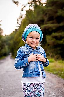 Detské čiapky - Prechodná predĺžená čiapočka - 9982738_