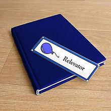 Papiernictvo - Minimalistické záložky do knihy nielen pre deti - balónik - 9981465_