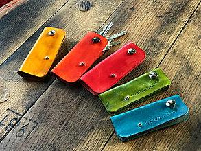 Kľúčenky - toast & jam púzdro na kľúče s logom toast & jam (Oranžová) - 9988414_