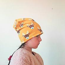 Detské čiapky - Čiapka Jelenček - 9985761_