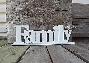 Dekorácie - Family - 9987050_