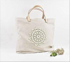 Veľké tašky - Shopperka natur - 9988325_