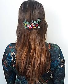 Ozdoby do vlasov - Lesný  hrebienok