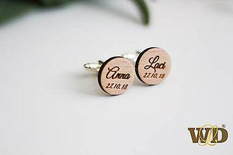 Šperky - Manžetové gombíky - 9988160_