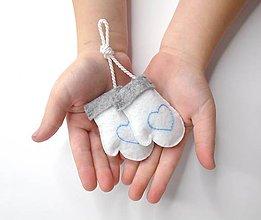 Dekorácie - Zimné rukavice - 9985207_