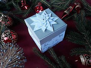 Krabičky - Vianočná hviezda - 9986228_