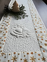Úžitkový textil - Vianočná štóla - 9988430_