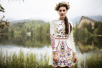 Šaty - šaty Slavianka - 9986006_