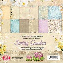 Papier - sada papierov Spring Garden 12x12 - 9987055_