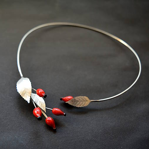 Náhrdelníky - Recy náhrdelník šípky - 9988763_