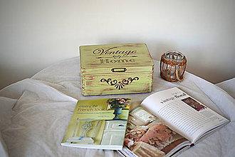 Nábytok - Box VINTAGE LEM LEM - 9988321_