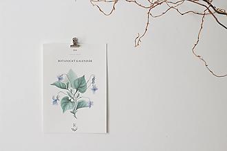 Papiernictvo - Botanický kalendár 2019 - 9987016_