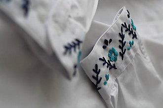 Oblečenie - Pánska košela Gorali I. (Modrá) - 9986942_